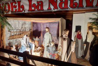 """Le """"village de Noël"""" des Tuileries"""