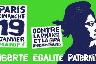 Train PACA-PARIS affrété spécialement pour la manifestation du 19 Janvier