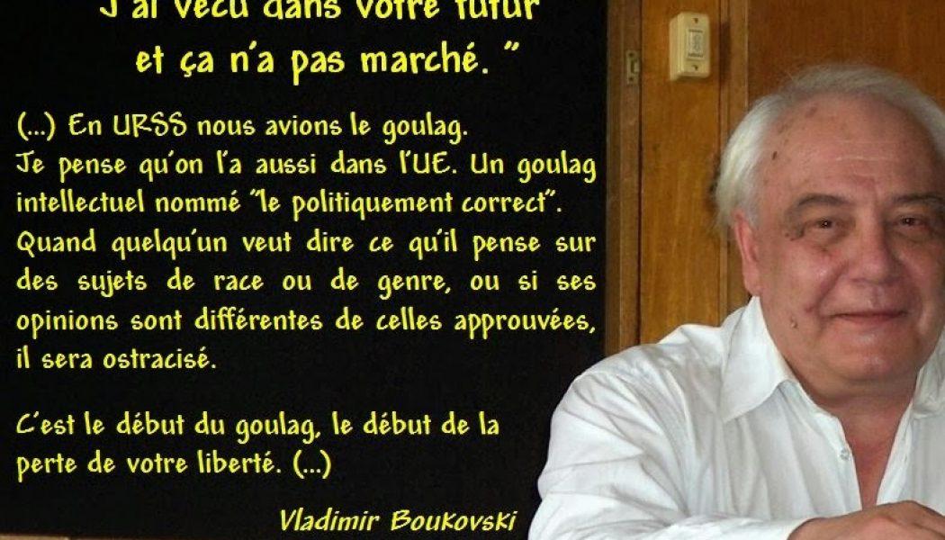 Vladimir Bukovski, le dissident russe qui comparait l'URSS à l'UE