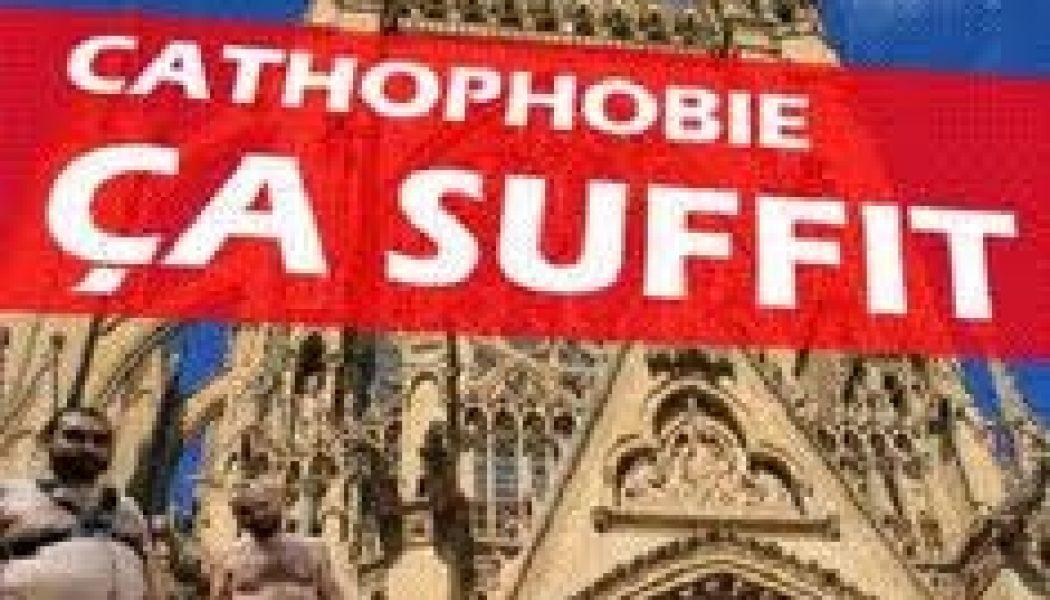 Cathophobie ordinaire : six églises taguées d'insulte à Bordeaux