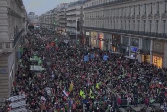 Marchons enfants aux JT de TF1, France 2, France 3, M6, Boulevard Voltaire