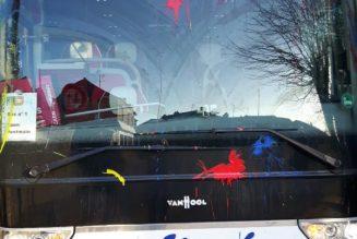 Dimanche, un autre bus a été vandalisé, au départ de Lille