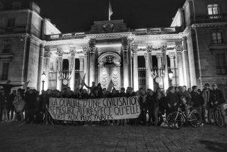Nouvelle manifestation cette nuit contre la loi de bioéthique