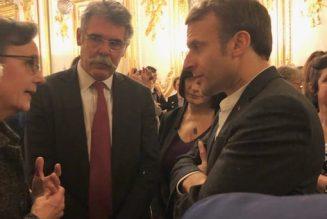 """Emmanuel Macron : """"Votre problème, c'est que vous croyez qu'un père est forcément un mâle"""""""