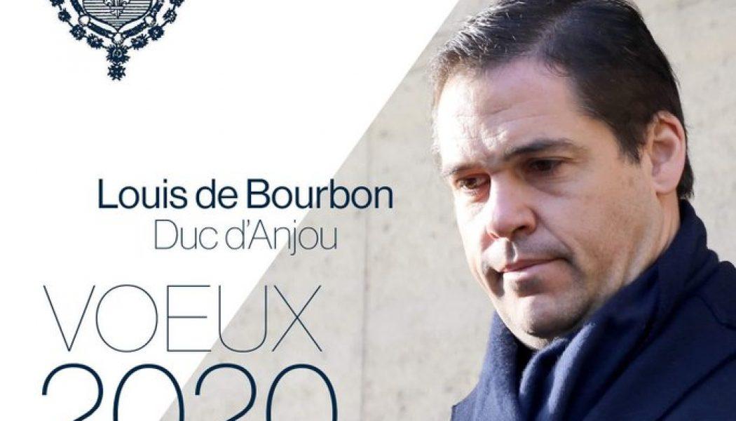"""Voeux de Louis de Bourbon : """"le devoir du successeur légitime des Rois de France est de s'exprimer"""""""