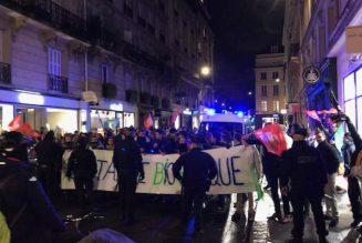 Plusieurs centaines de manifestants pacifiques cette nuit contre la loi de bioéthique