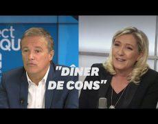 """Quand Nicolas Dupont-Aignan comparait les primaires à un """"dîner de cons"""""""