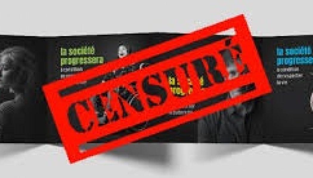 Affiches VITA (1/2) : Cette passion morbide pour la censure et ce refus compulsif de la liberté d'expression viennent de la gauche