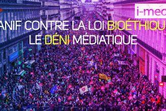 Manif contre la loi bioéthique : le déni médiatique