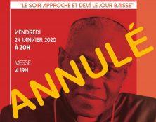Annulation de la conférence du cardinal Sarah