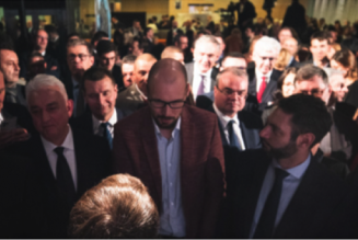 Emmanuel Macron ou super-gourou en Pologne