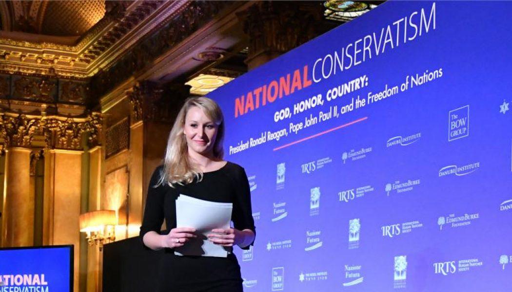 """Discours de Marion Maréchal au colloque du """"Conservatisme national : Dieu – Honneur -Patrie"""""""