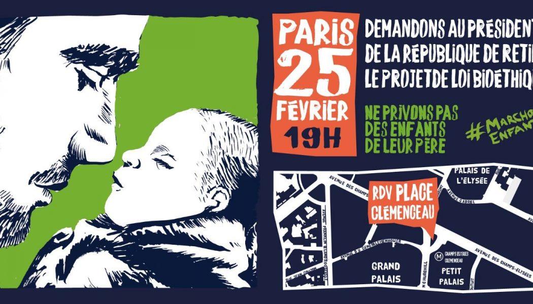 25 février avec Marchons Enfants : Tous devant l'Elysée