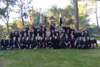 Rassemblement scout inter-mouvements à l'abbaye du Barroux