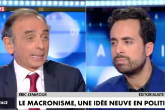Face à Mounir Mahjoubi, Eric Zemmour pulvérise le macronisme