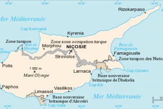 Destruction de mosaïques dans la partie de Chypre occupée par la Turquie