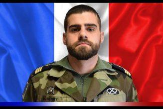 Un militaire de l'opération Barkhane décédé. RIP