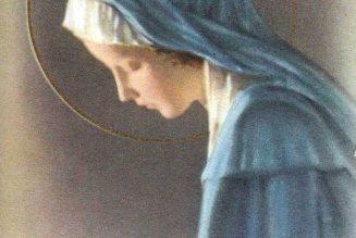 Neuvaine à la Sainte Vierge – Premier jour