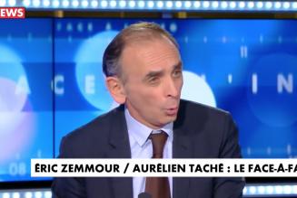 Face à l'Info : Eric Zemmour vs Aurélien Taché
