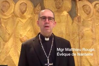 Message de Mgr Rougé sur l'épidémie