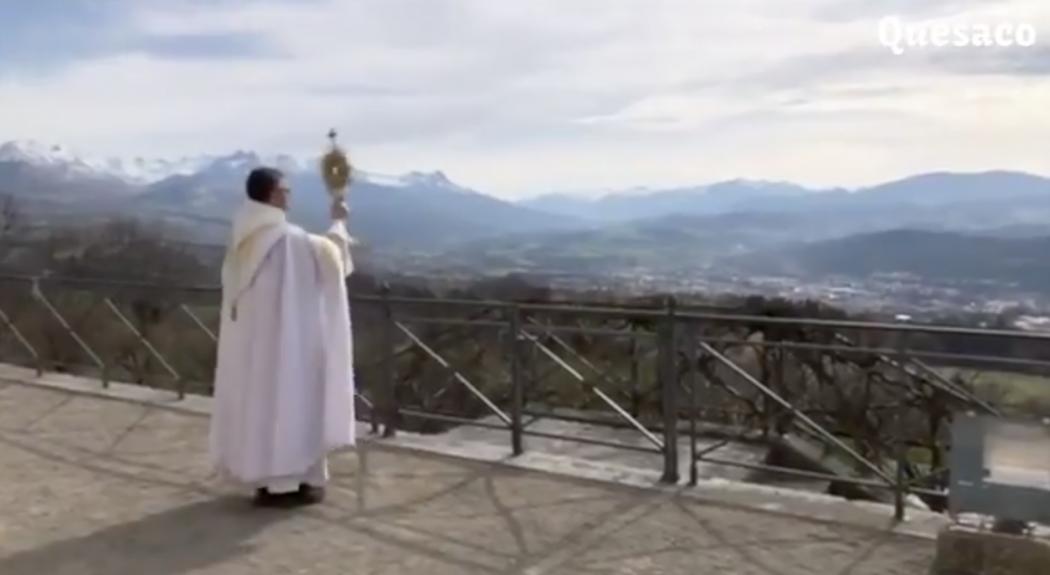 Monseigneur Xavier Malle a béni le diocèse de Gap