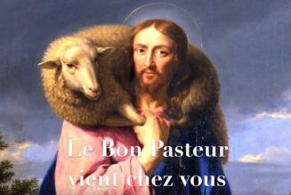 Pendant la quarantaine, le Bon Pasteur vient jusqu'à chez vous