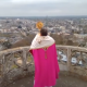 Bénédiction du haut de la cathédrale de Bourges