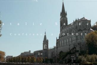 Conférence de Natalie Saracco à Lourdes – 1ère partie