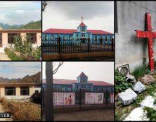 Les croix supprimées des églises en Chine
