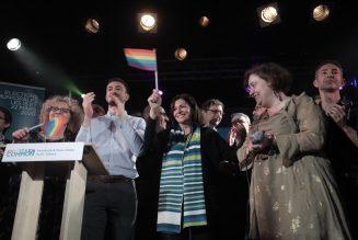 Le meeting LGBT d'Anne Hidalgo perturbé