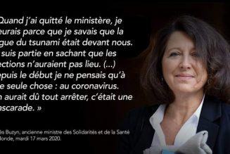 Le terrible aveu d'Agnès Buzyn