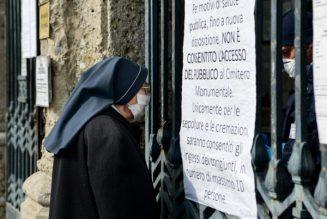 La guerre silencieuse des religieuses d'Italie contre le coronavirus