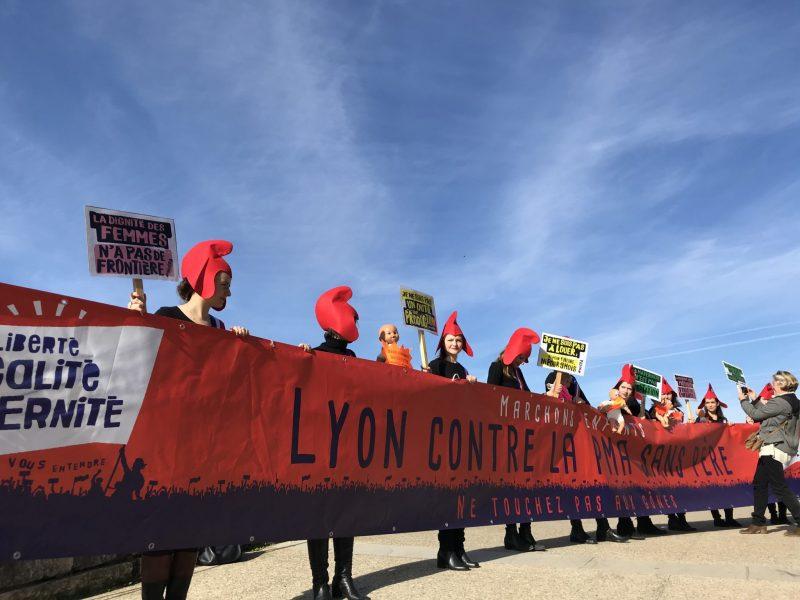 Mobilisations dans toute la France contre la loi de bioéthique