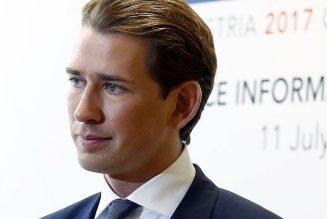 Le chancelier autrichien Sebastian Kurz a annoncé la réouverture des lieux de cultes à partir du 15 mai