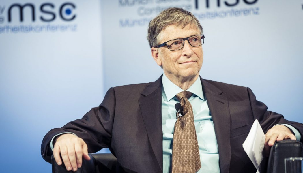 Bill Gates et Le Monde