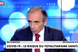 Eric Zemmour sur l'interdiction des messes aux fidèles par Édouard Philippe