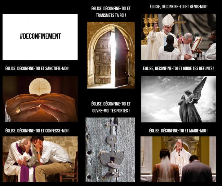 Ensemble, hâtons le déconfinement de notre Église !