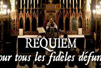 Si la liturgie des obsèques peut être célébrée avec assistance, alors il faut célébrer des messes de requiem