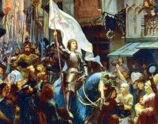Que Sainte Jeanne d'Arc patronne secondaire de la France depuis 1922 veille toujours sur notre pays