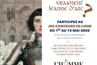 Concours Sainte Jeanne d'Arc 2020