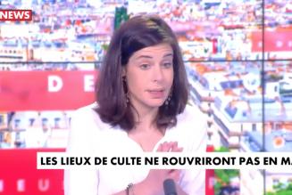 Charlotte d'Ornellas recadre Laurent Joffrin sur le culte public dans les églises
