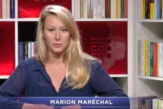 Marion Maréchal : face au drame social qui va submerger notre pays, la premier mesure efficace est d'établir la priorité nationale