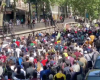Manifestation pour le grand remplacement sous l'oeil complaisant des autorités