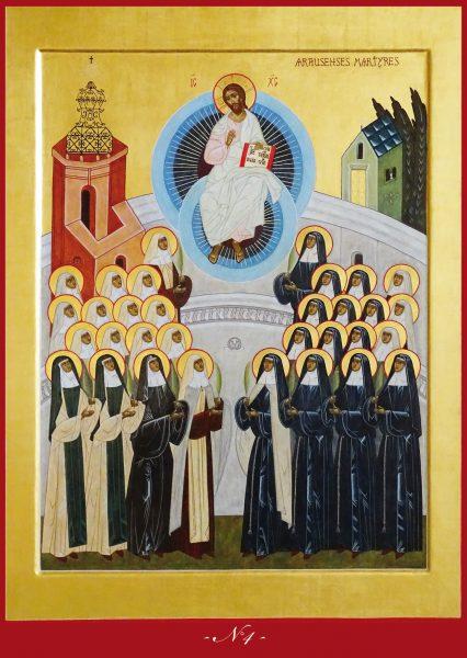 2 -10 mai : neuvaine aux Bienheureuses martyres d'Orange