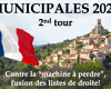 Municipales : quelques fusions de liste de droite pour le second tour