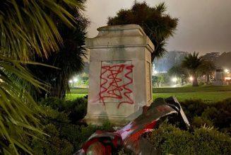 Déboulonner les statues est une pratique habituelle en période révolutionnaire