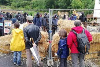 Occupation illégale du chantier du site Notre Dame des Neiges à Saint Pierre de Colombier