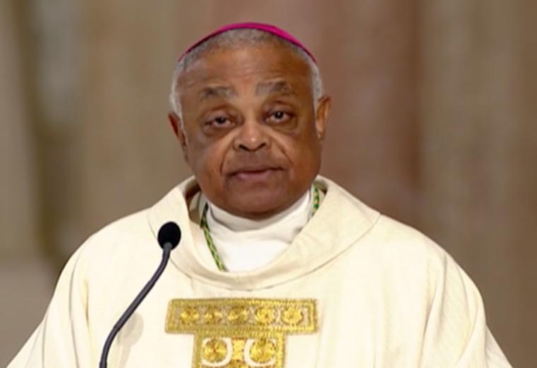 """Cardinal Wilton Gregory : """"Joe Biden ne respecte pas l'enseignement catholique"""""""