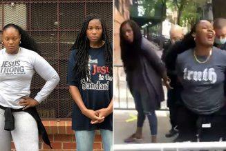 """Deux femmes (noires) pro-vie, menottées pour avoir manifesté devant un centre d'avortement : """"Il y a des milliers de George Floyds qui meurent chaque jour dans le ventre de leur mère"""""""