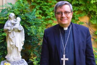 Mgr David : le nouvel archevêque de Monaco appelle à la fidélité